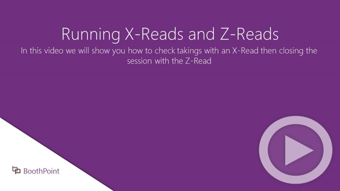 Running X-Reads and Z-Reads